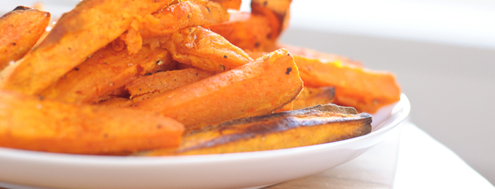 Carrot & Sweet Potato Fries