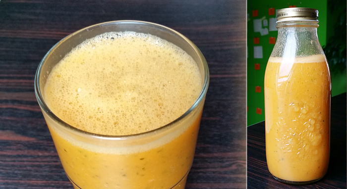 Sweet Potato-Orange-Mango Juice
