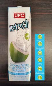 UFC 100% Coconut Water