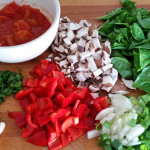 Gemüse für Quinoa Jambalaya