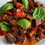 Quinoa Jambalaya rot