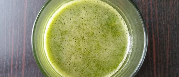 Spinach-Jaroma-Peach Juice